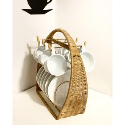 Straw cup hanger