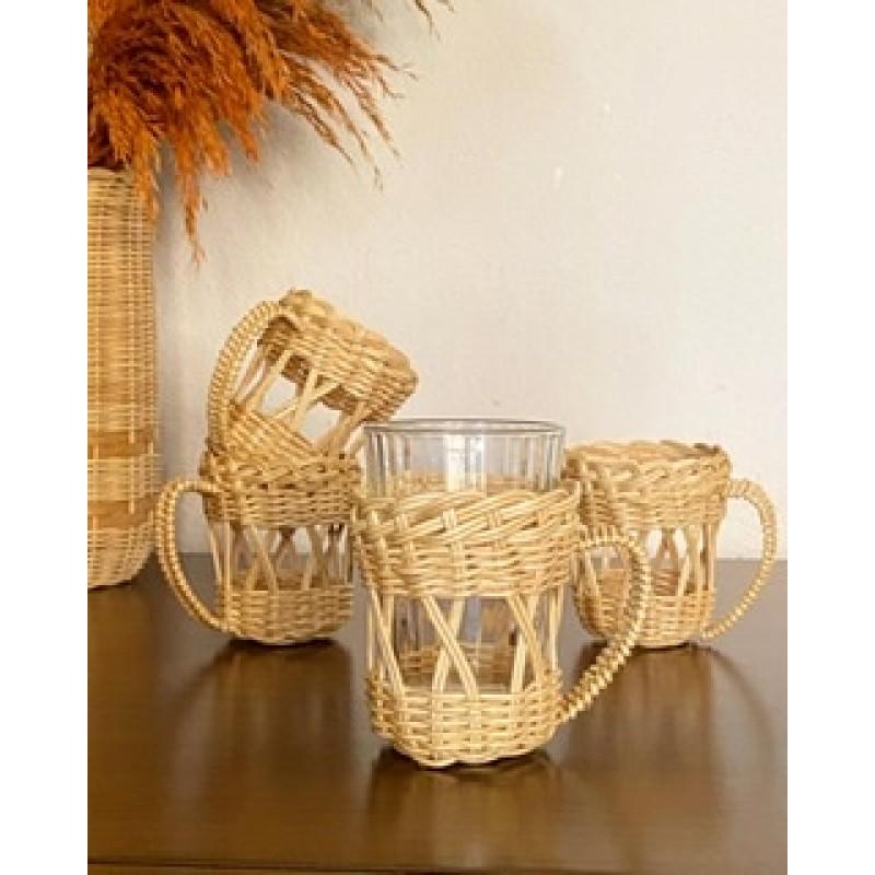 Straw cup holder