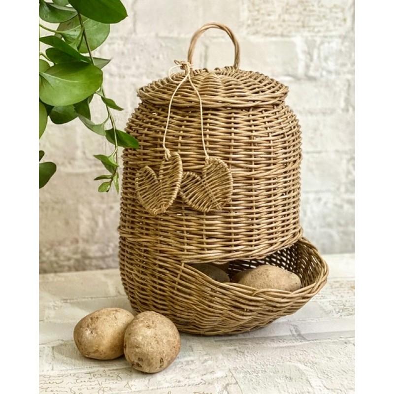 Potato onion basket