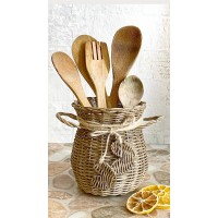 Wicker Spoon