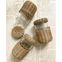 Wicker Jar (500ml.)