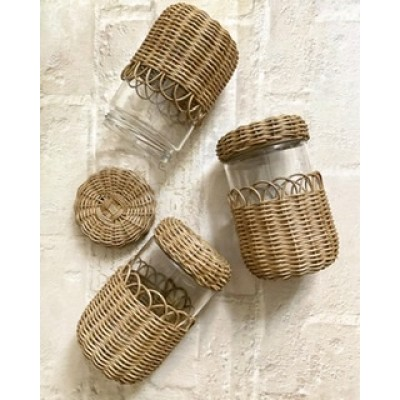 Wicker Jar (500ml.)