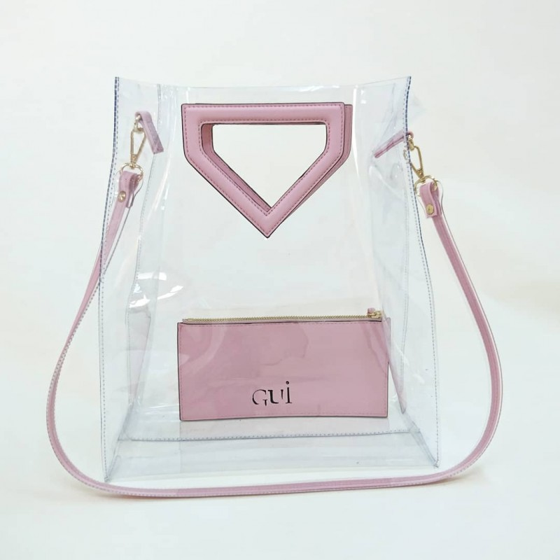 Transparen (Pink)